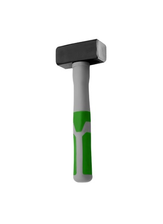 rende: Hammer isolated on a white background for you