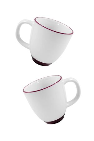 cofee: cups cofee isolated on white