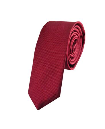 red tie: red tie isolated on white background