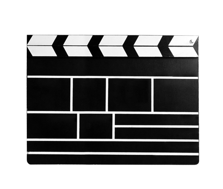 flick: movie clapboard Stock Photo