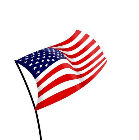 flagged: USA Flag
