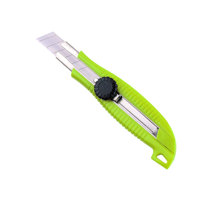retractable: retractable utility knife isolated