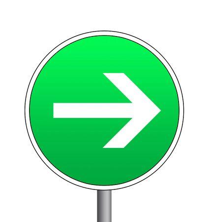 impasse: road sign isolated Stock Photo