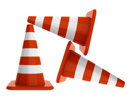 laying forward: Under construction. Cones