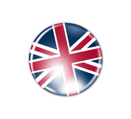 britain: flag badge - Great Britain