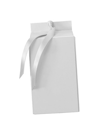 closed ribbon: gift box with attached bow
