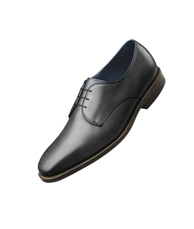 shiny black: black shiny mans shoe