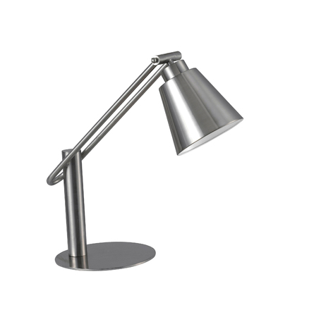 Desk Lamp, isolated Stock Photo