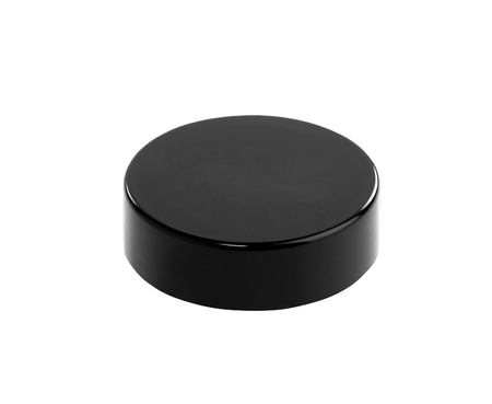 puck: Hockey puck on white background Stock Photo