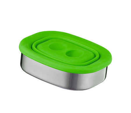 metal food container