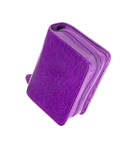 pencil holder: Used violet pencil holder case