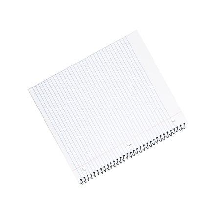 note pad: Spiral bound note pad