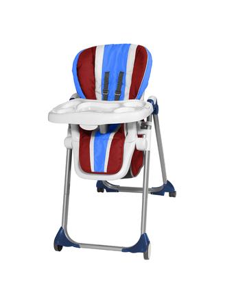 high chair: Baby High Chair Stock Photo