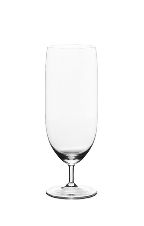 bocal: Empty wine glass, isolated on a white background Stock Photo
