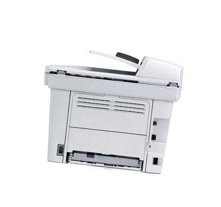xerox: Printer isolated Stock Photo