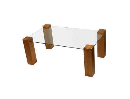 hammered: modern dining glass table