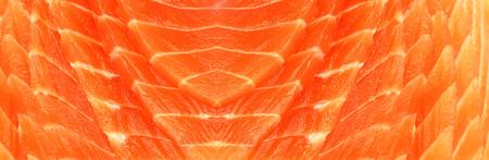 red salmon: Fresh red salmon texture. Closeup