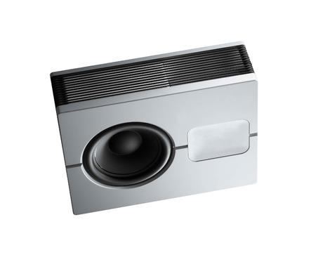 loud speaker: loud speaker. Isolated on white.