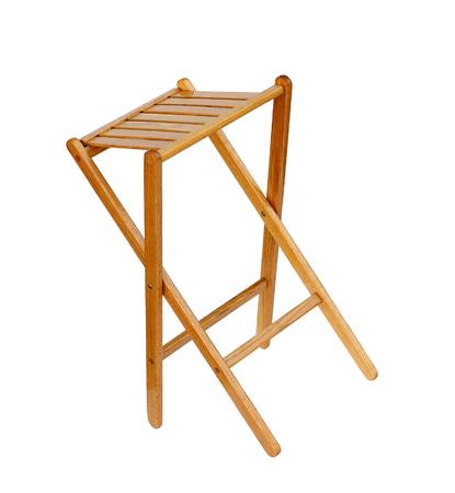 respite: wood chair Stock Photo