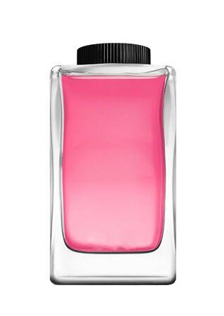 botle: Botle of perfume isolated on white Stock Photo