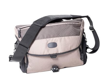 shoulder bag: Shoulder bag isolated Stock Photo