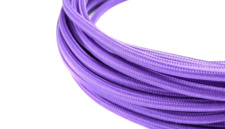 Purple rope isolated