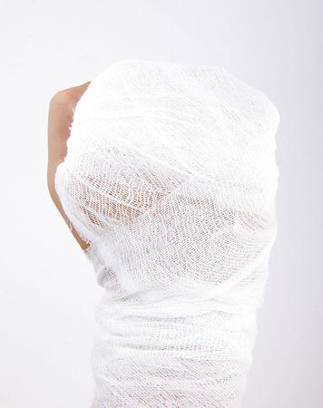 bandaged: mens bandaged hand