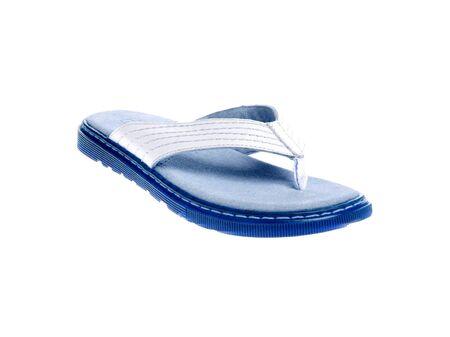 sandalia: Sandalia azul