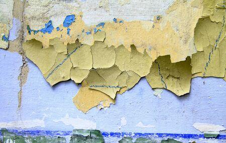 crackles: Vintage paint