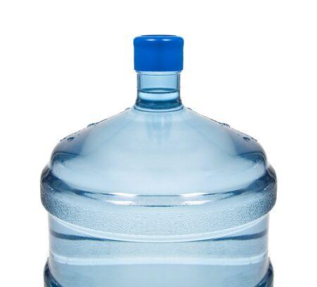 potable: big plastic bottle for potable water Stock Photo