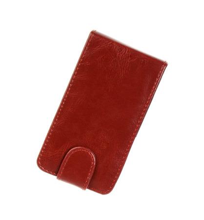 billfold: Red wallet