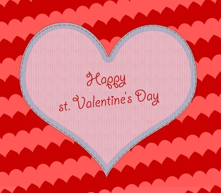 sample text: Valentines day background with hearts, sample text