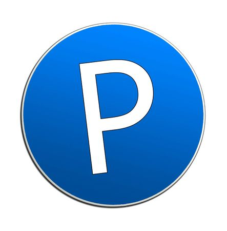 parking sign: Illustration of cars parking sign