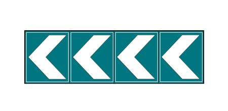 arrow sign: directional arrow sign to right Stock Photo