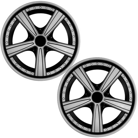 rims: Car tire with rims Stock Photo