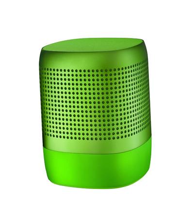 subwoofer: Table speaker isolated on white