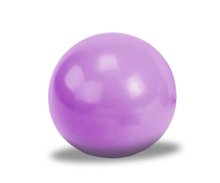 gym ball: Violet gym ball for exercise