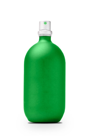 cfc: spray can isolated on white with