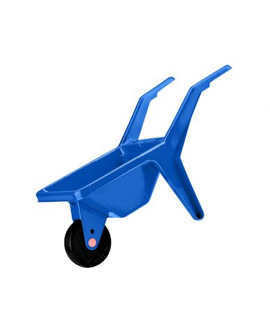 handtruck: isolated handtruck on white background