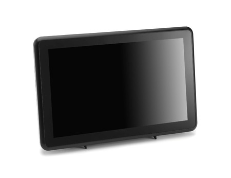 lcd: Modern widescreen lcd tv monitor
