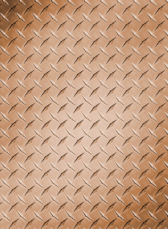 rough diamond: old dirty and grungy diamond plate background