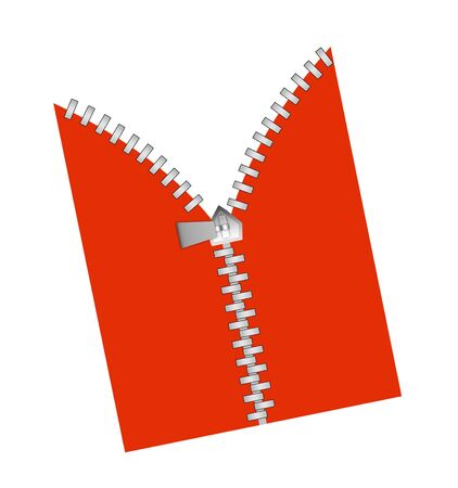 cheaper: Zipper revealing