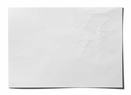 Paper texture  White paper sheet  photo