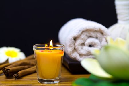 stone bowl: Candle Spa