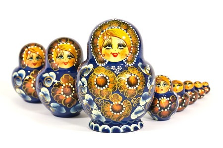 matryoshka Russian dolls photo