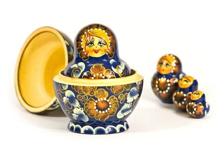 matryoshka Russian dolls photo