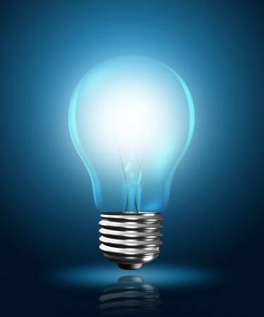 light bulb Stock Photo - 14589312