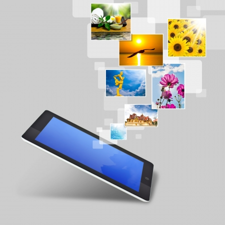 touchscreen tablet Stock Photo - 15380943