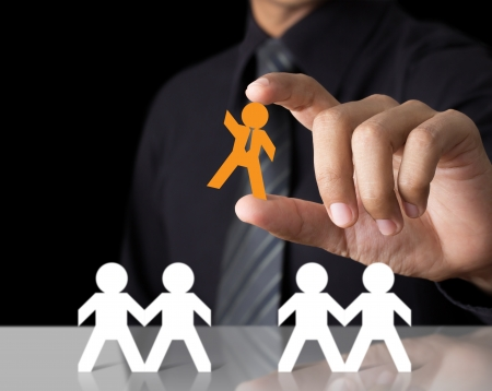 different concept: Leadership Concept Stock Photo