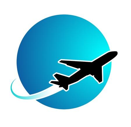 airplane travel: Airplane travel around the world